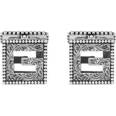 Gucci G-Cube Cuff Links