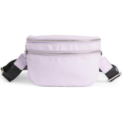 Bp. X Claudia Sulewski Nylon Belt Bag - Purple
