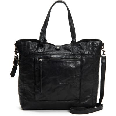 Frye And Co Rubie Leather Tote - Black
