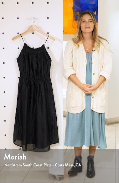 Hand Smocked Midi Dress, sales video thumbnail