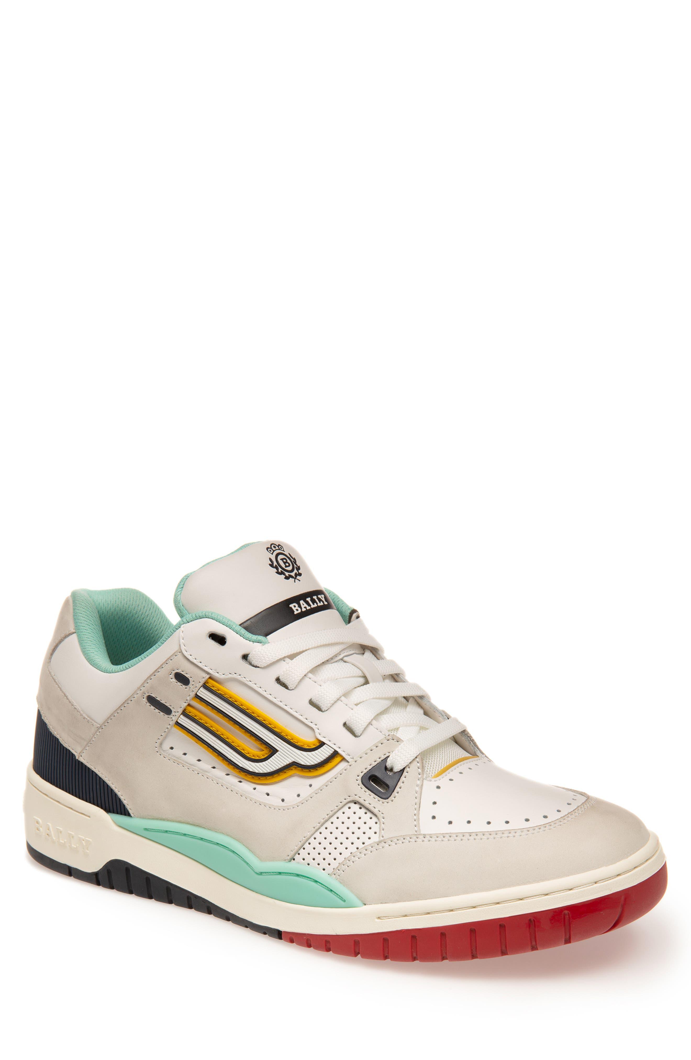 Image of BALLY Kuba Leather Low Top Sneaker