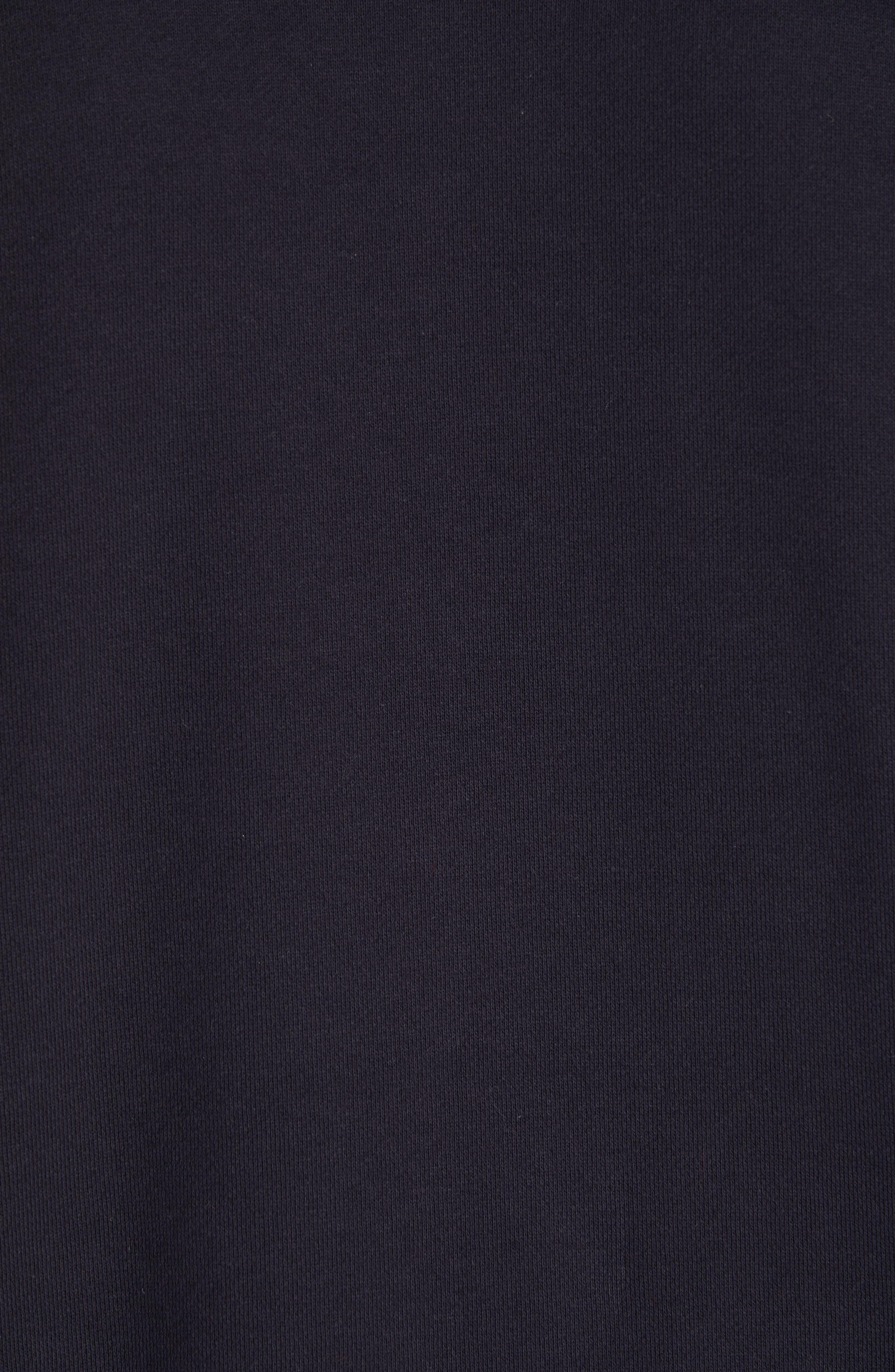 ,                             Oversize Crewneck Sweatshirt,                             Alternate thumbnail 5, color,                             410