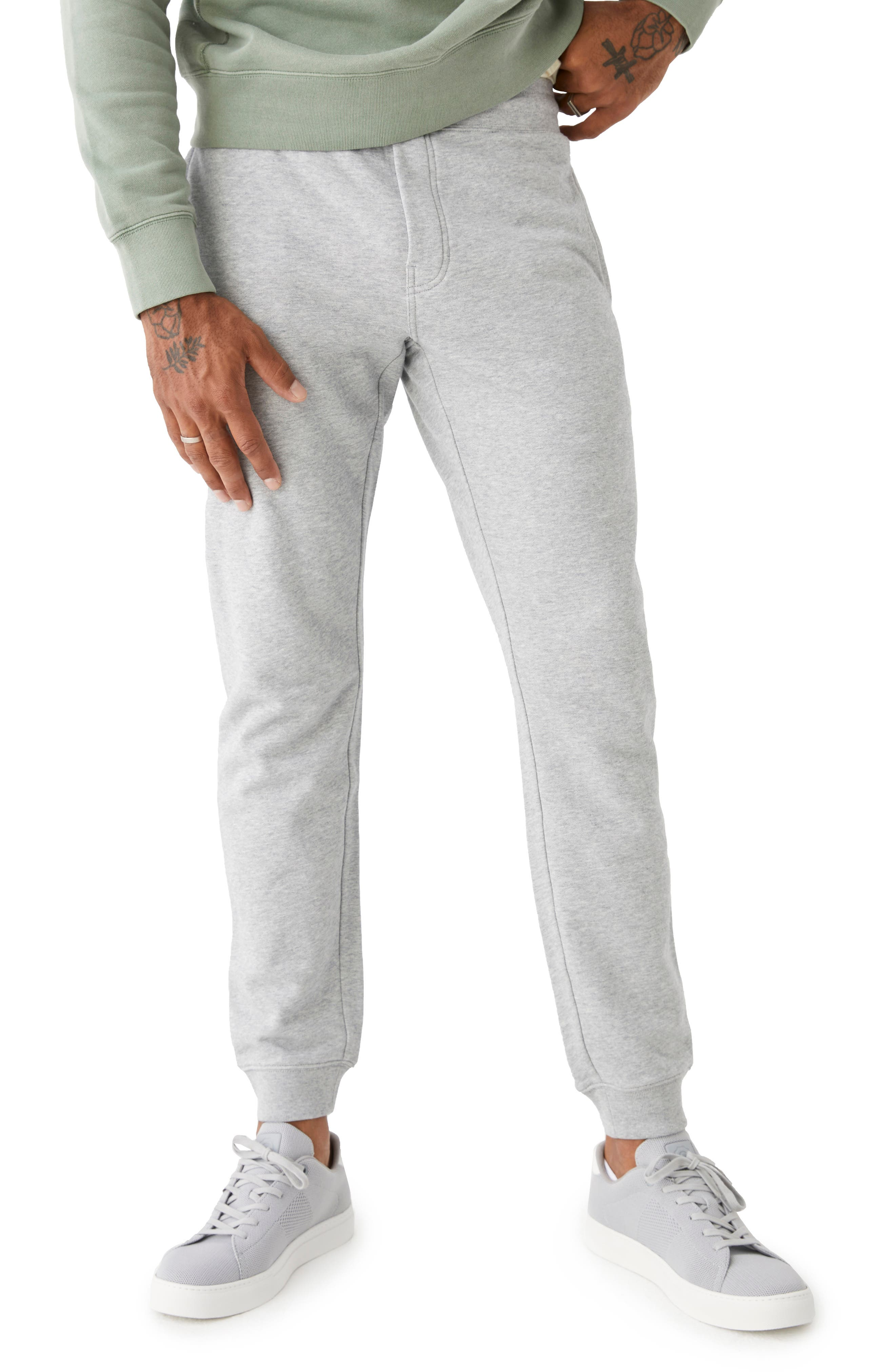 The 76 Organic Cotton French Terry Joggers