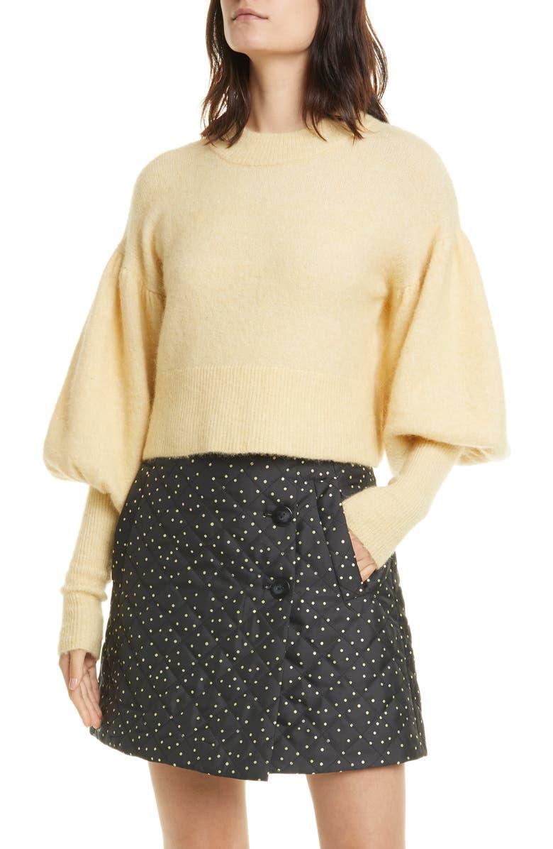 BAUM UND PFERDGARTEN Coline Crop Sweater, Main, color, 700