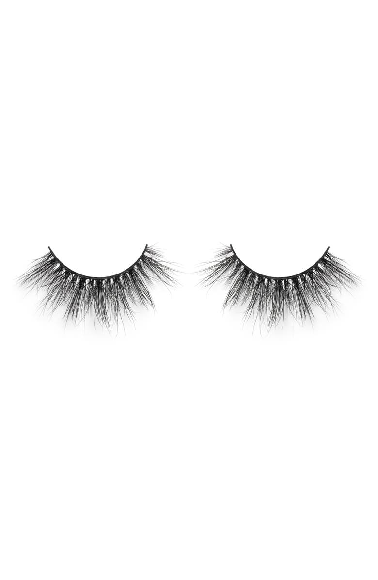 LILLY LASHES Miami So Extra 3D Mink False Lashes, Main, color, NO COLOR