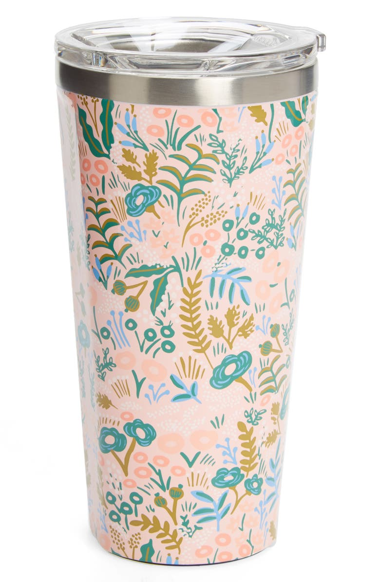 CORKCICLE x Rifle Paper Co. Tapestry Insulated 16-Ounce Stainless Steel Tumbler, Main, color, 650