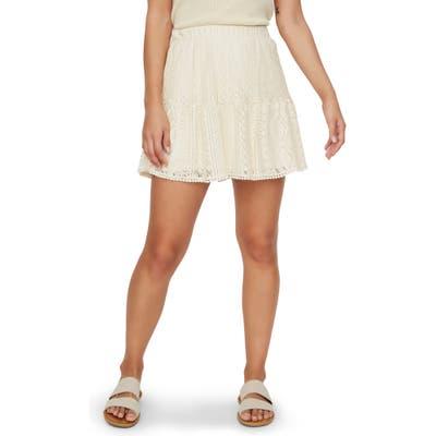 Vero Moda Olea Lace Miniskirt, Ivory