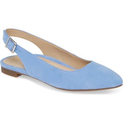 Vionic Jade Slingback Flat- Blue