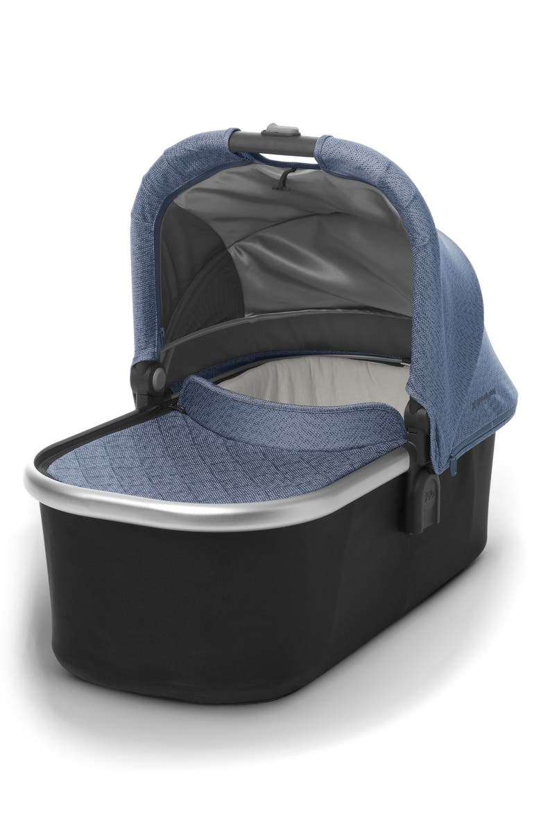 UPPABABY Bassinet for CRUZ or VISTA Strollers, Main, color, BLUE MARL