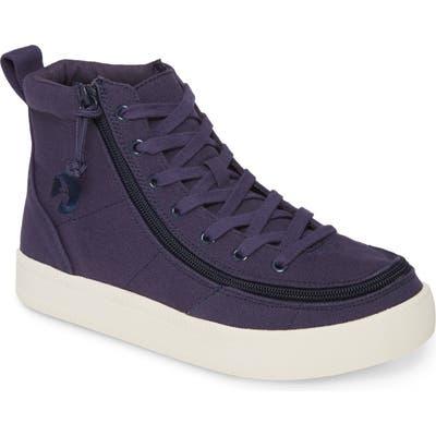 Billy Footwear Classic High Top Sneaker- Blue