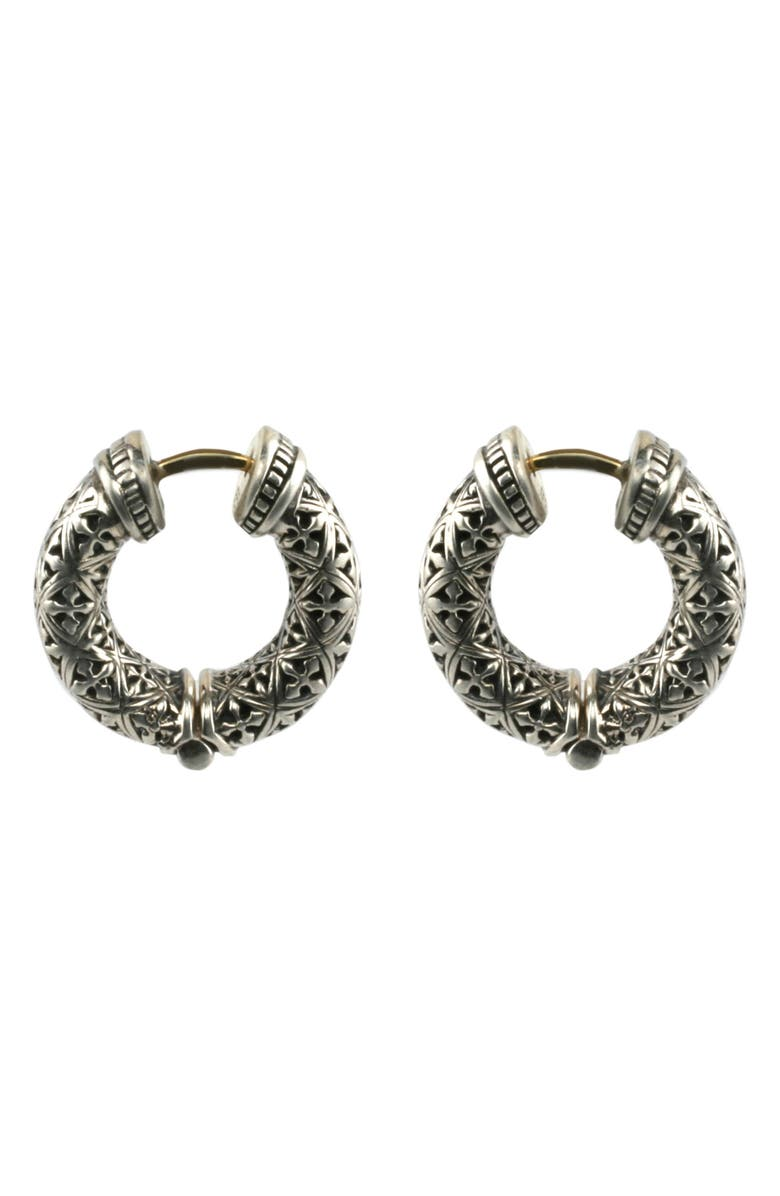 KONSTANTINO Classics Hoop Earrings, Main, color, 040