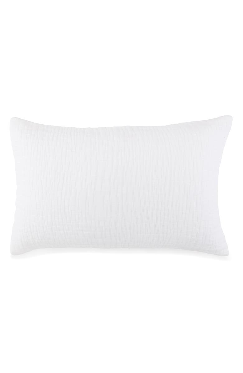 KASSATEX Lafayette Accent Pillowcase, Main, color, WHITE
