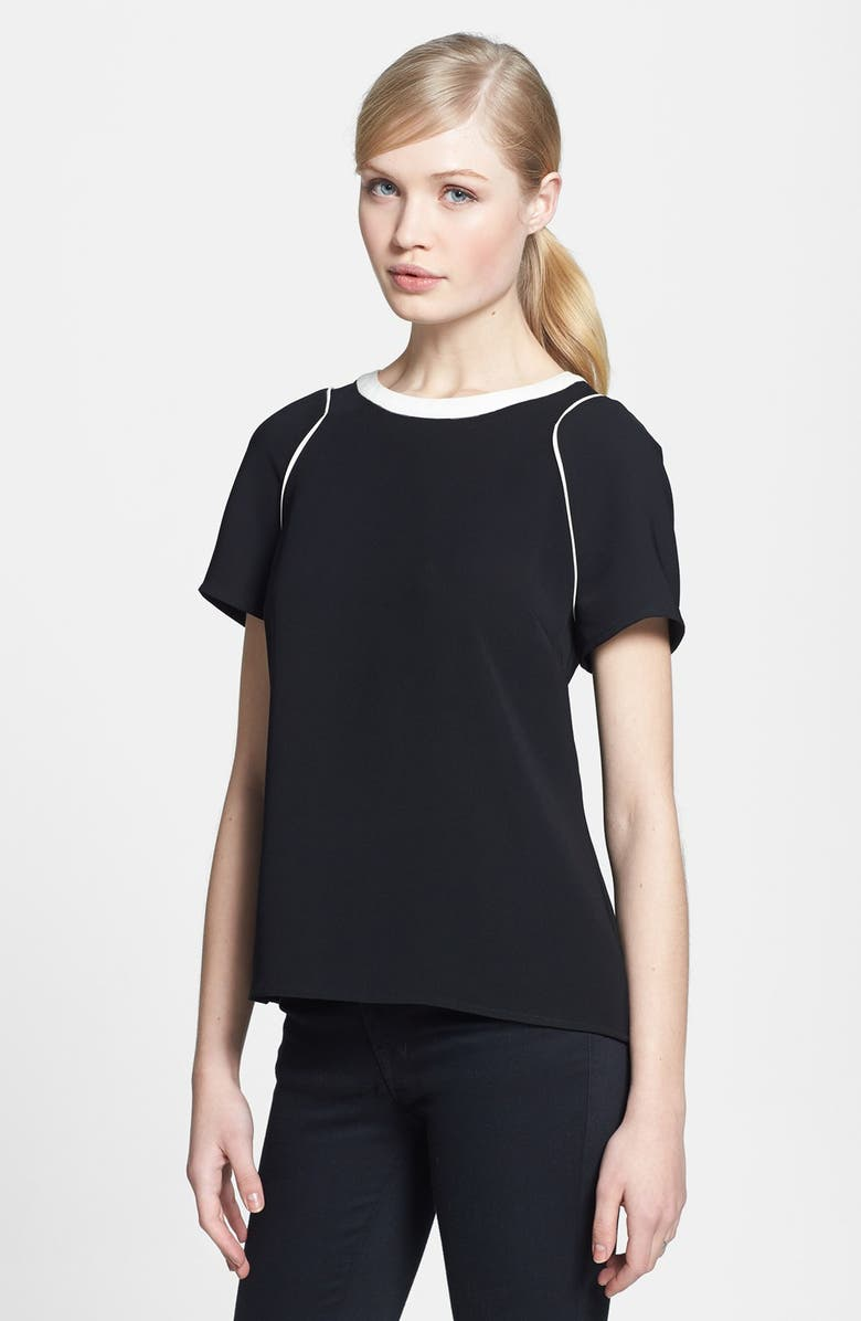 1.STATE Colorblock Crepe Tee, Main, color, 001