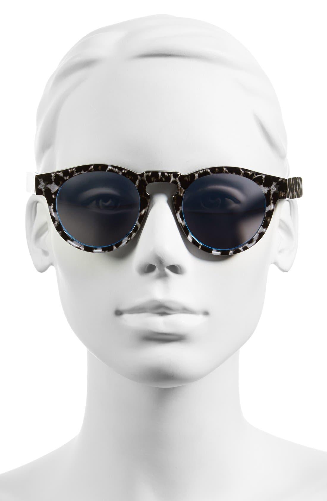 ,                             'Leonard' 47mm Sunglasses,                             Alternate thumbnail 8, color,                             004