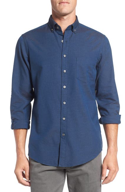 Image of RODD AND GUNN Mason Bay Denim Sports Fit Shirt