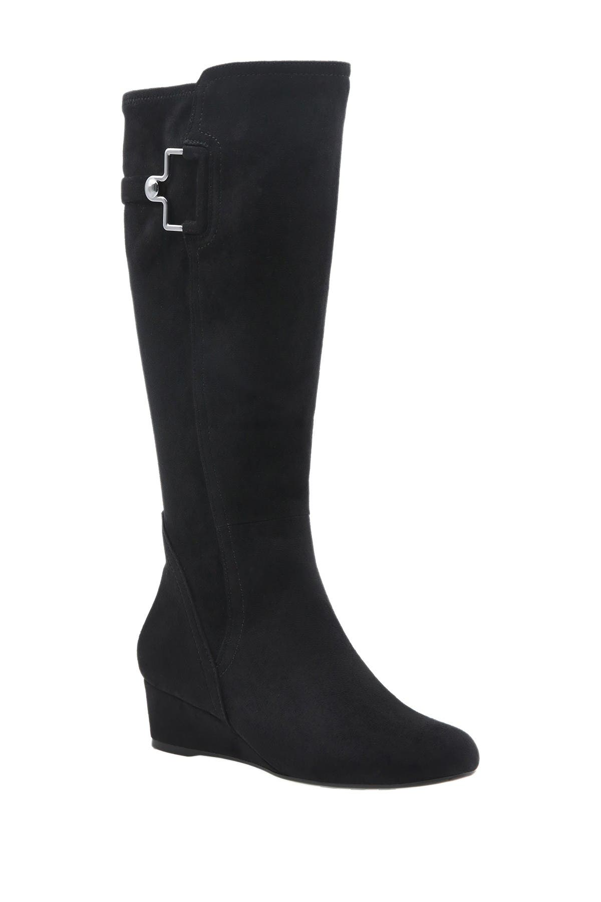 Impo | Glada Stretch Wedge Tall Boot