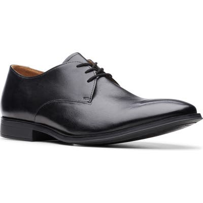 Clarks Gilman Walk Plain Toe Derby, Black