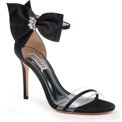Badgley Mischka Fran Bow Ankle Strap Sandal