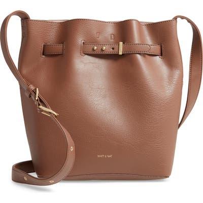 Matt & Nat Lexi Faux Leather Bucket Bag - Brown