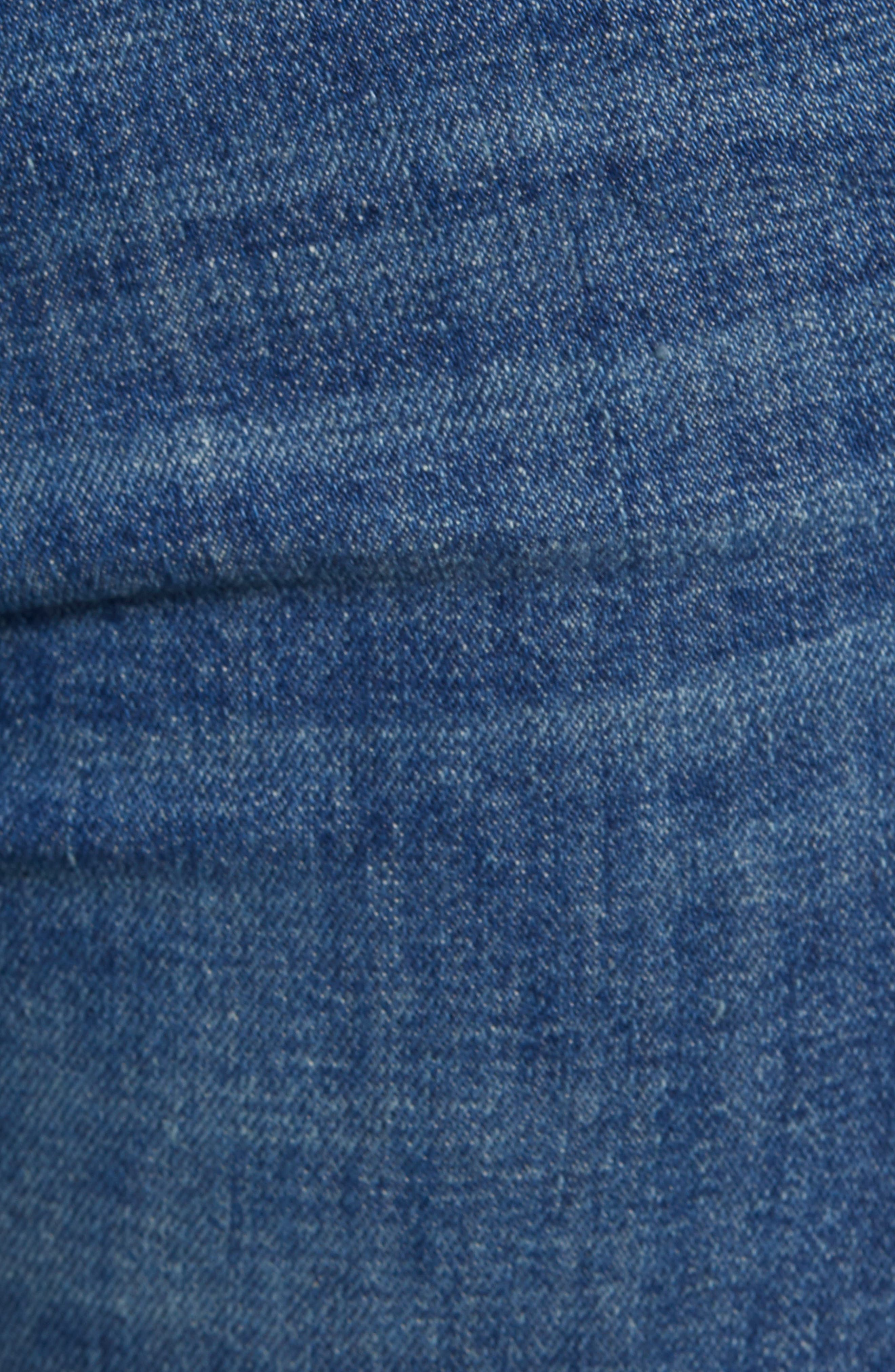 ,                             'The Looker' Frayed Ankle Jeans,                             Alternate thumbnail 12, color,                             420