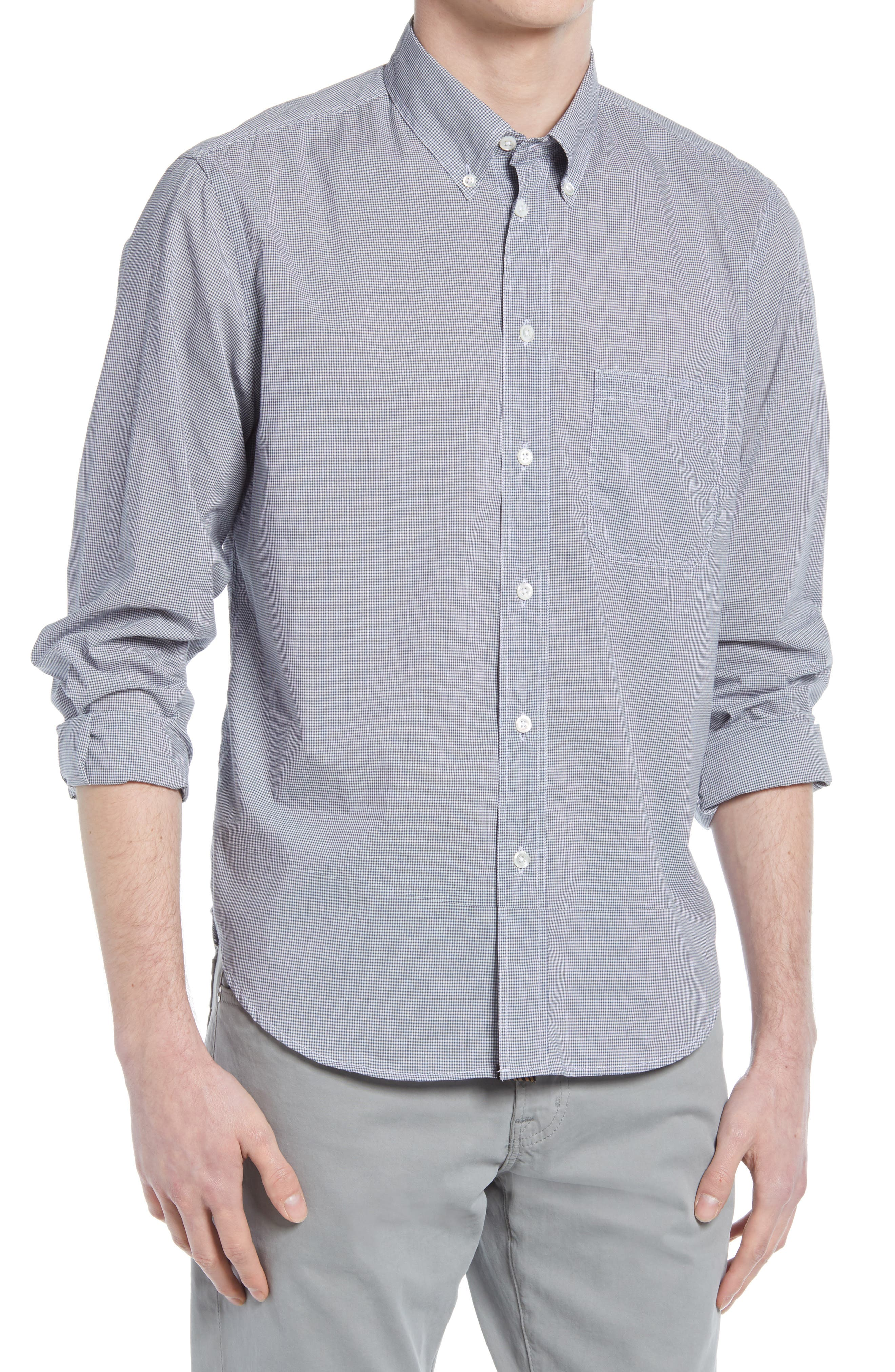 Tuscumbia Houndstooth Button-Down Shirt
