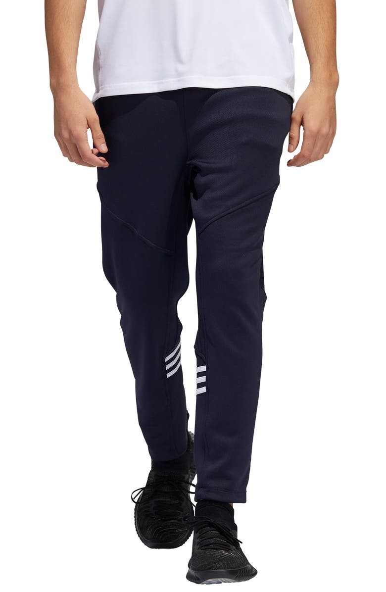ADIDAS Daily 3-Stripe Track Pants, Main, color, 408