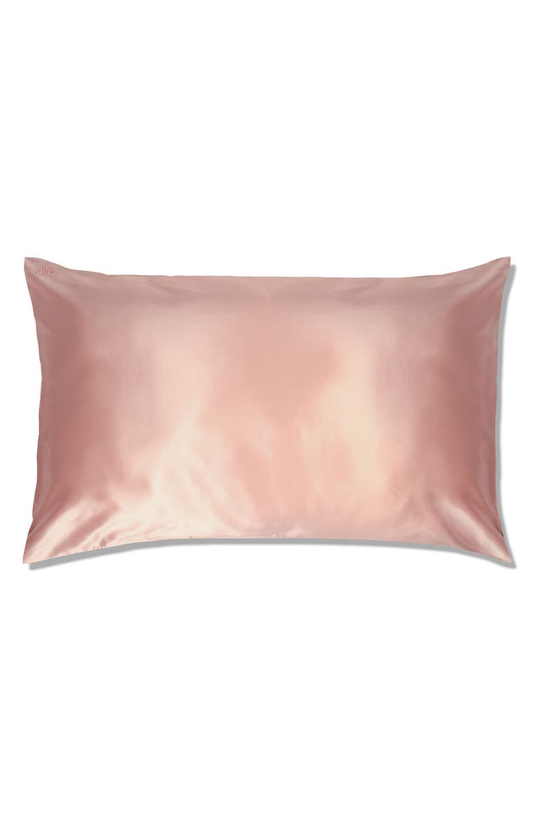 SLIP Pure Silk Pillowcase, Main, color, PINK