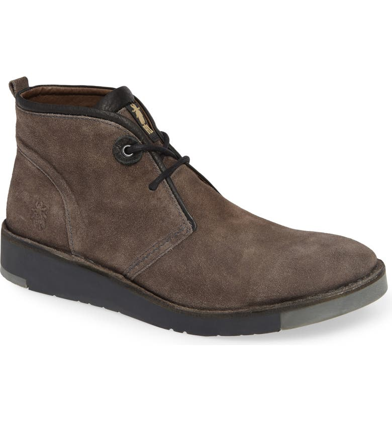 FLY LONDON Sion Water Resistant Chukka Boot, Main, color, 020