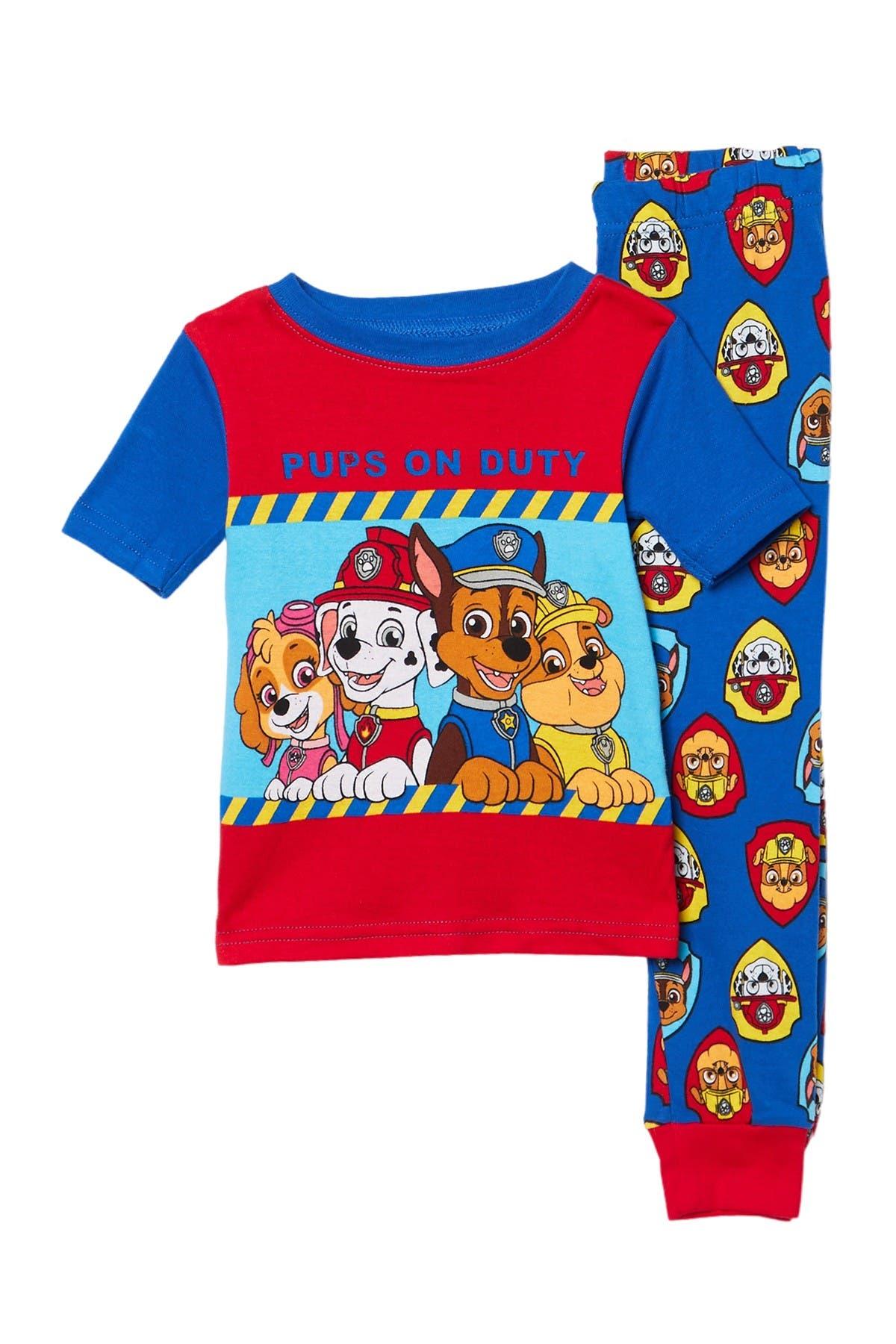 Image of AME Paw Patrol Cotton Pajamas