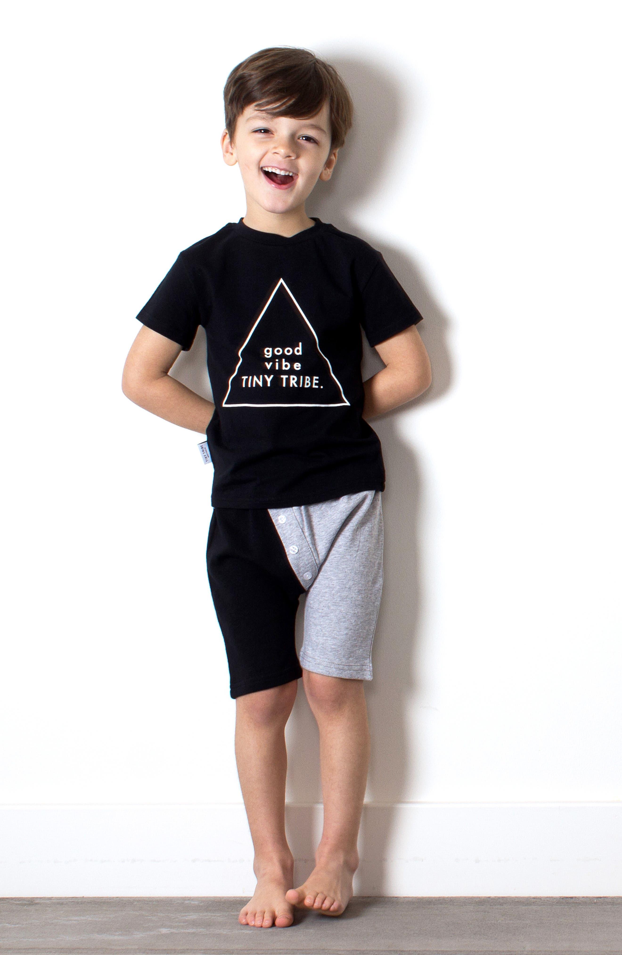 ,                             Good Vibe Graphic T-Shirt,                             Alternate thumbnail 2, color,                             BLACK