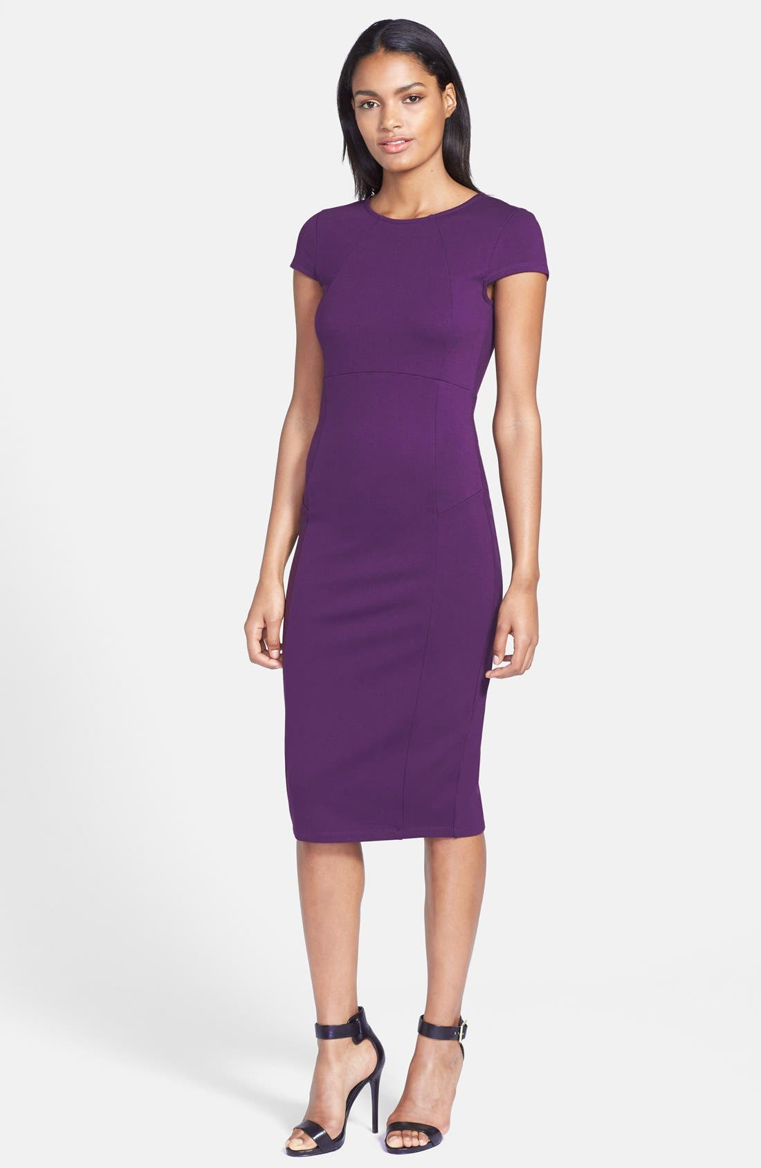 ,                             Ward Seamed Pencil Dress,                             Alternate thumbnail 50, color,                             506