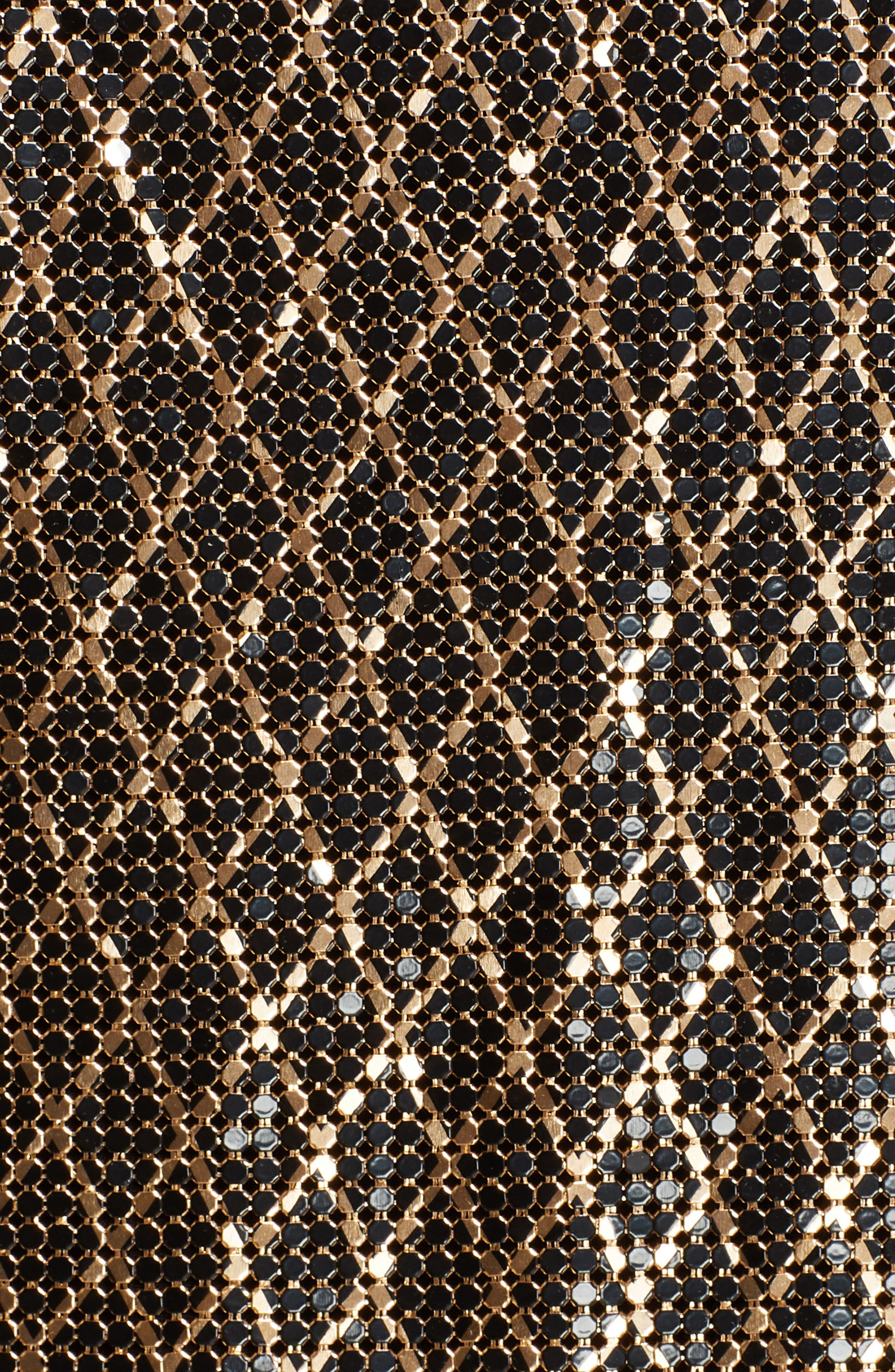 ,                             Harmon Chain Mail Drapey Camisole,                             Alternate thumbnail 5, color,                             BLACK/ GOLD