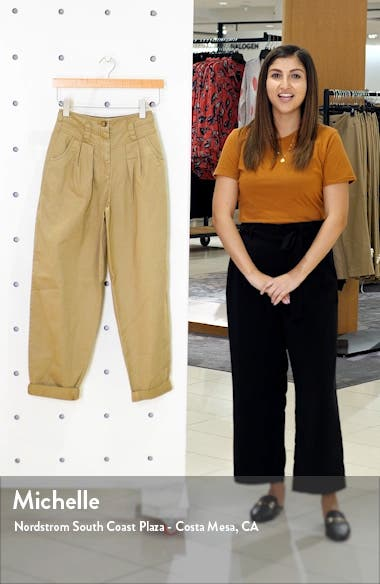 Ella Tapered Crop Trousers, sales video thumbnail
