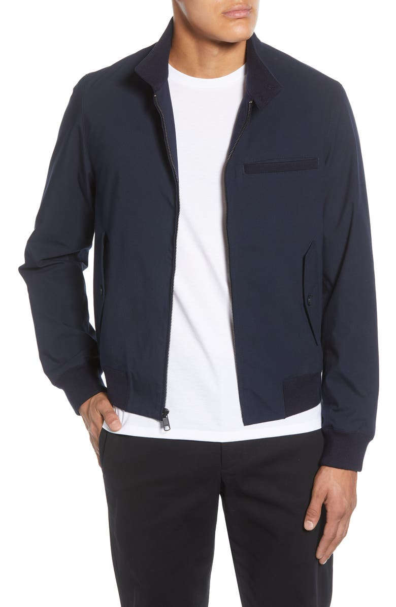 VINCE Harrington Regular Fit Jacket, Main, color, COASTAL