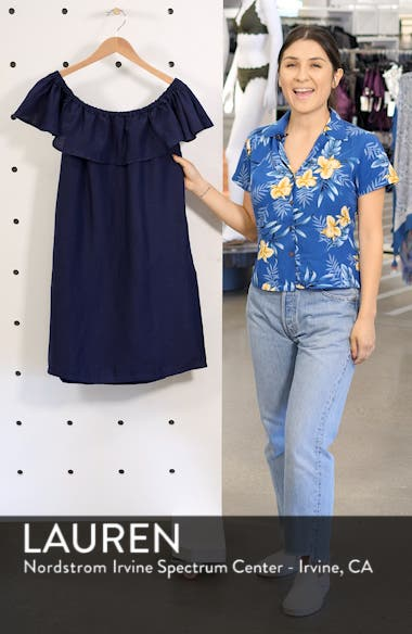 Off the Shoulder Cover-Up Dress, sales video thumbnail