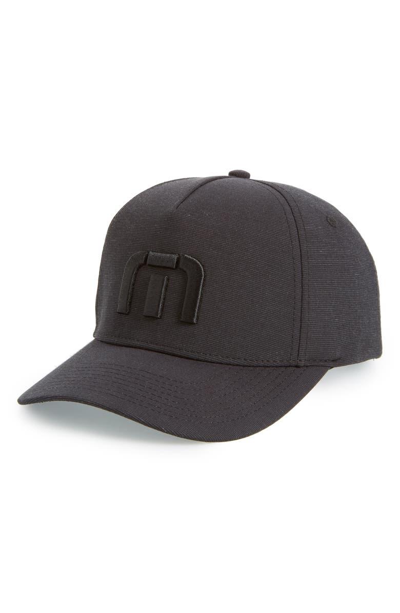 TRAVISMATHEW Top Shelf Baseball Cap, Main, color, 001