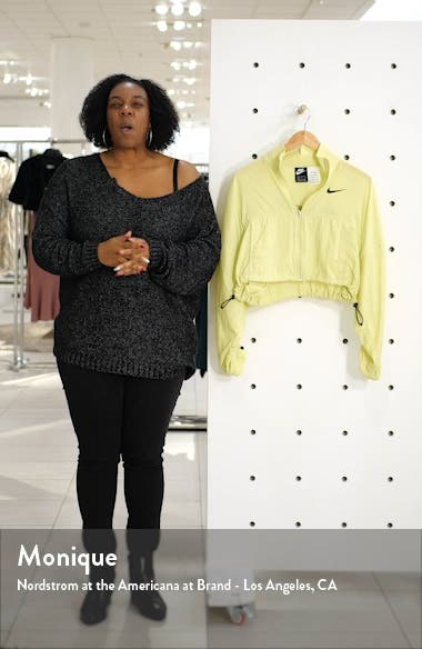 Sportswear Swoosh Crop Jacket, sales video thumbnail