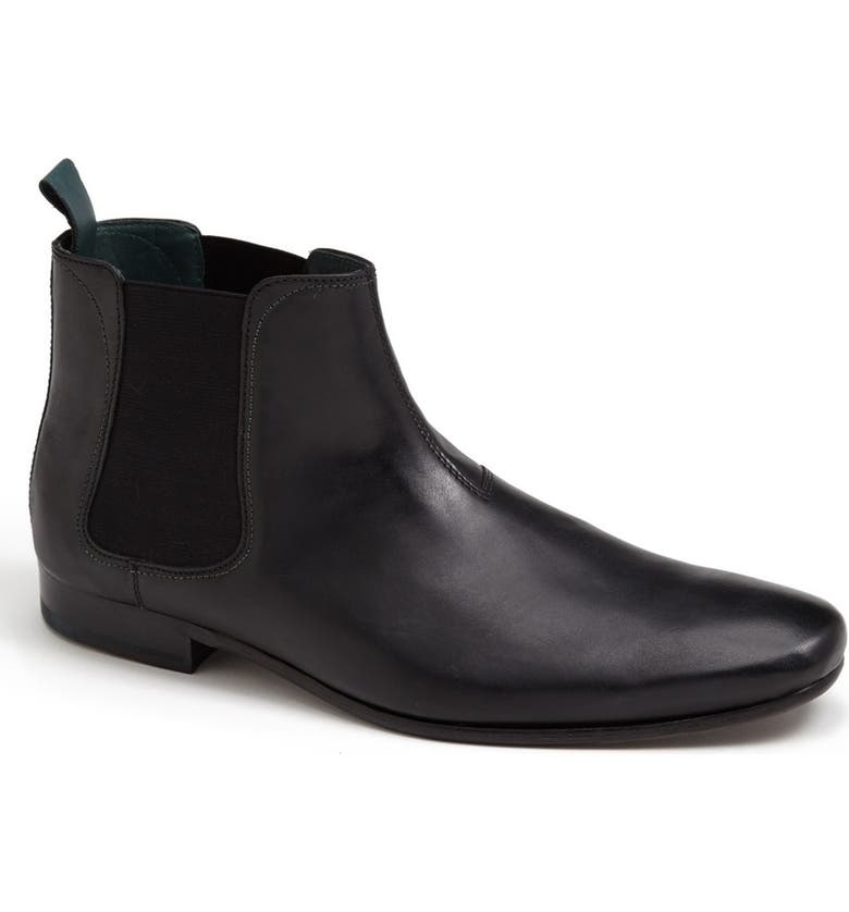 TED BAKER LONDON 'Buurg' Chelsea Boot, Main, color, 001