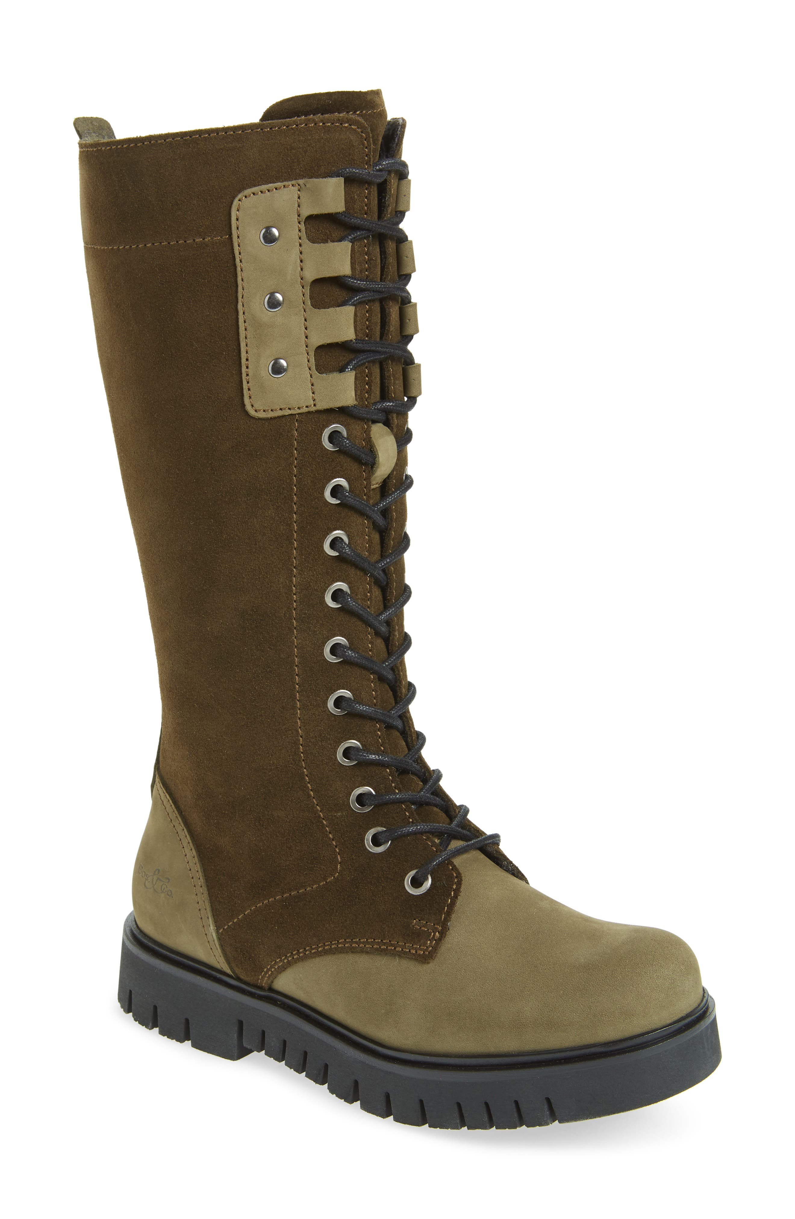 Bos. & Co. Portage Waterproof Lace-Up Boot - Green