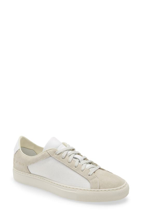 Common Projects Leathers SUMMER EDITION LOW TOP SNEAKER