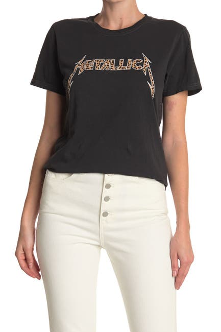Image of MERCH TRAFFIC Metallica Animal Graphic T-Shirt