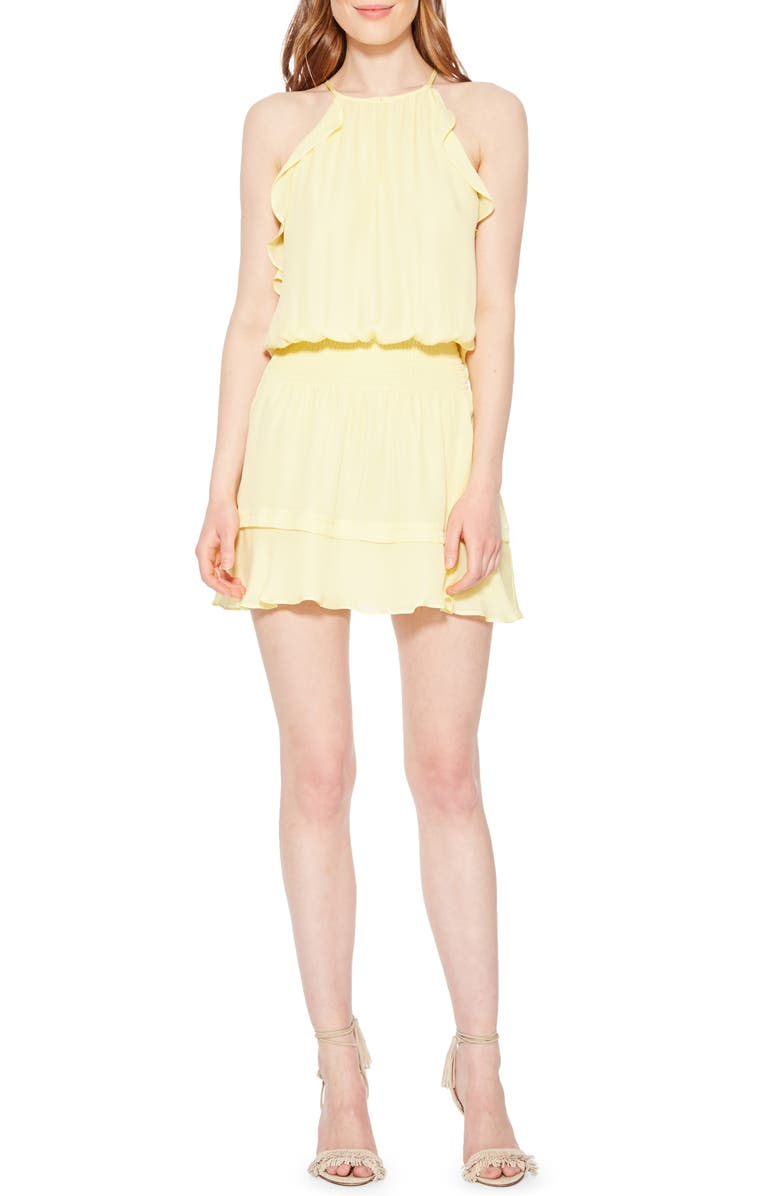 Parker Williame Silk Halter Dress