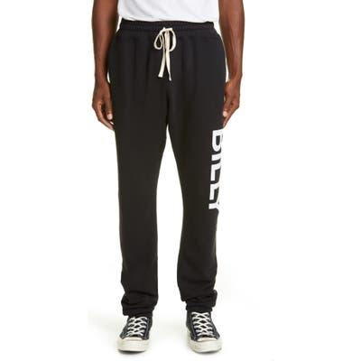 Billy Los Angeles Logo Cloud Sweatpants, Black
