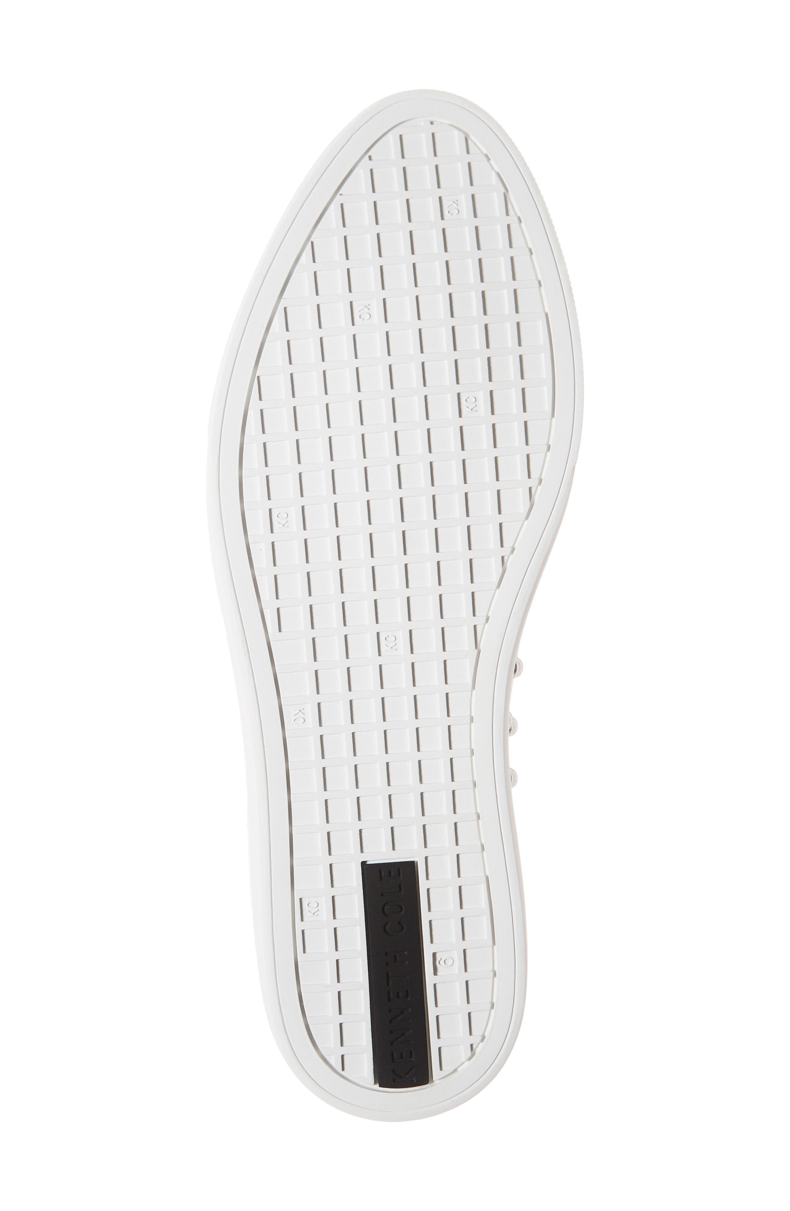 ,                             Mara Stud Slip-On Sneaker,                             Alternate thumbnail 6, color,                             WHITE LEATHER