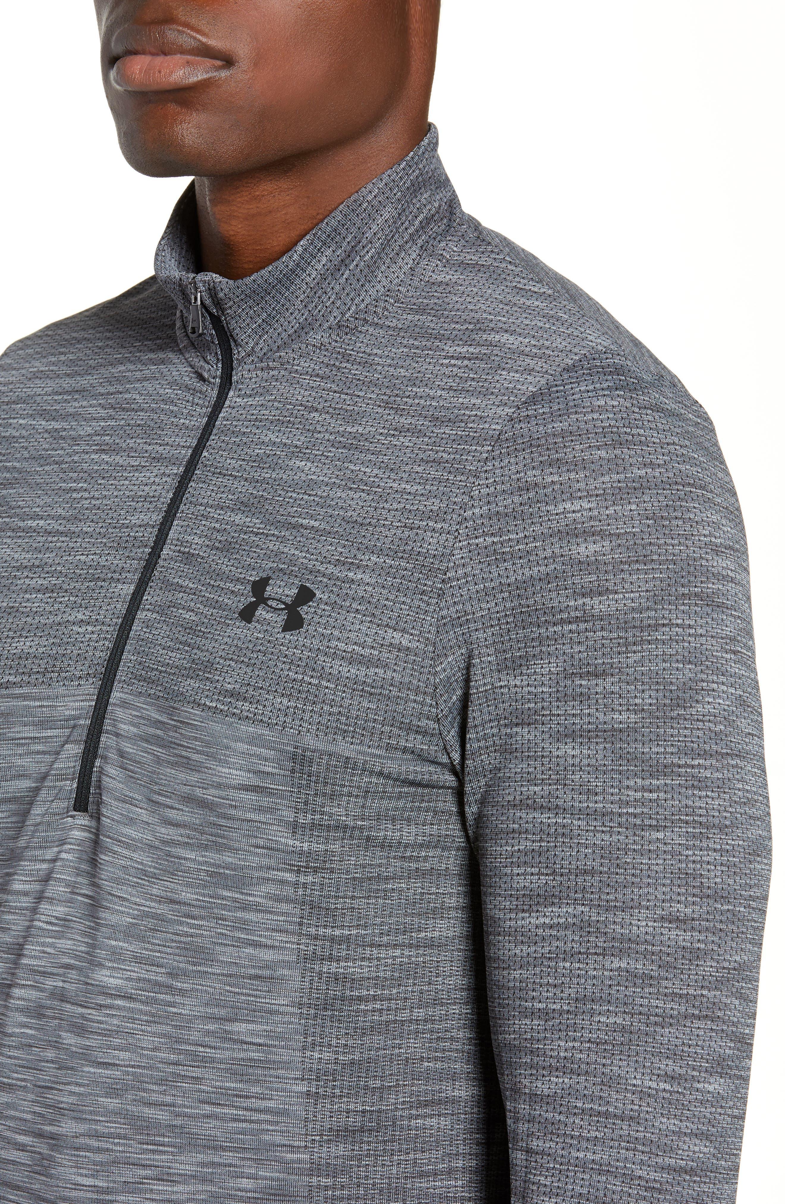 ,                             Siphon Regular Fit Half-Zip Pullover,                             Alternate thumbnail 4, color,                             STEEL