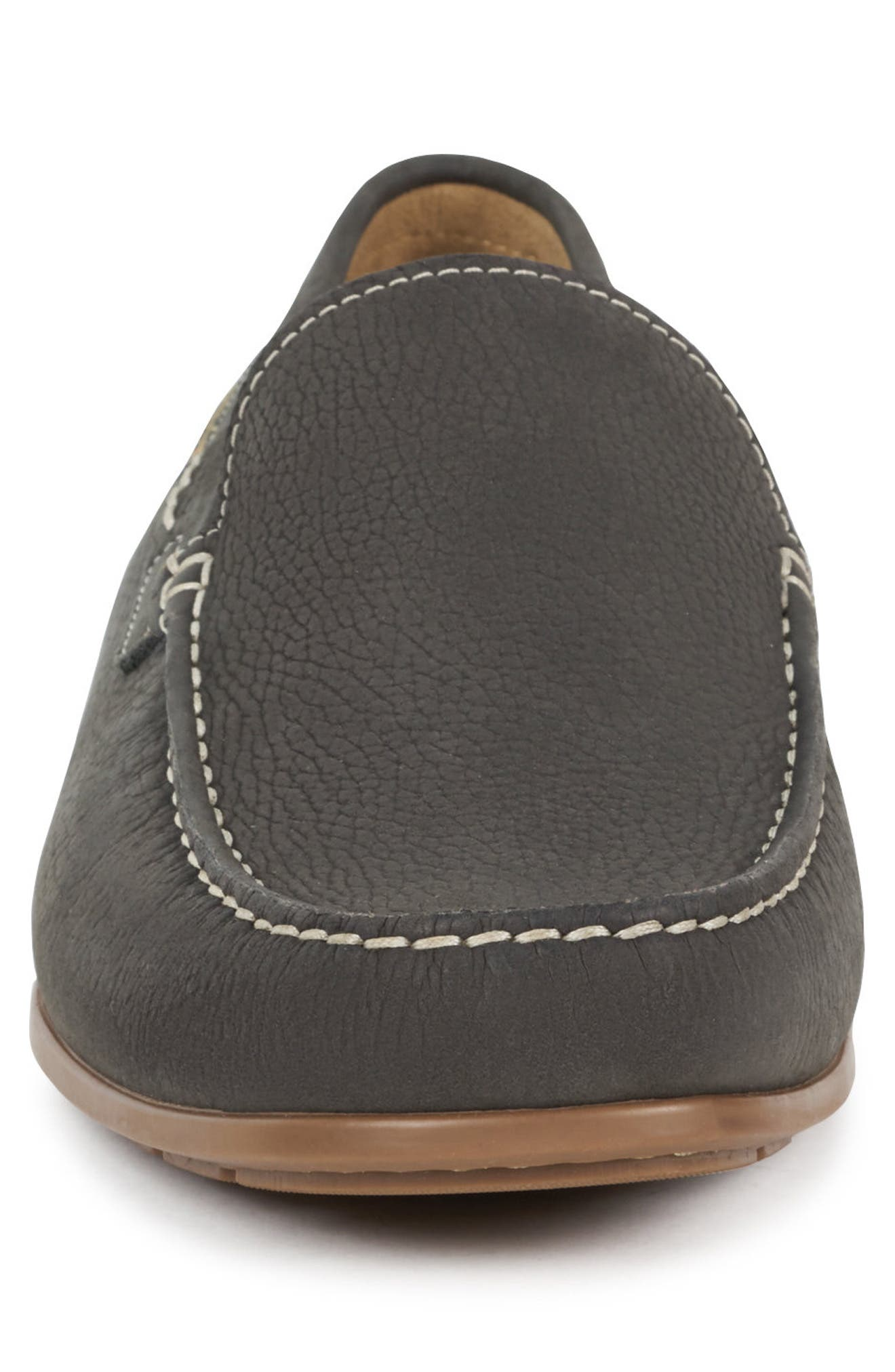 ,                             'Algoras' Slip-On,                             Alternate thumbnail 4, color,                             GRAPHITE SUEDE