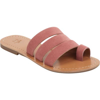 Marc Fisher Ltd Rilee Slide Sandal, Pink