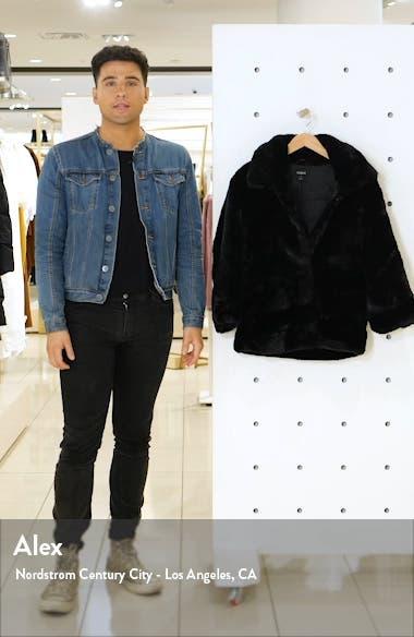 Pia Faux Fur Jacket, sales video thumbnail