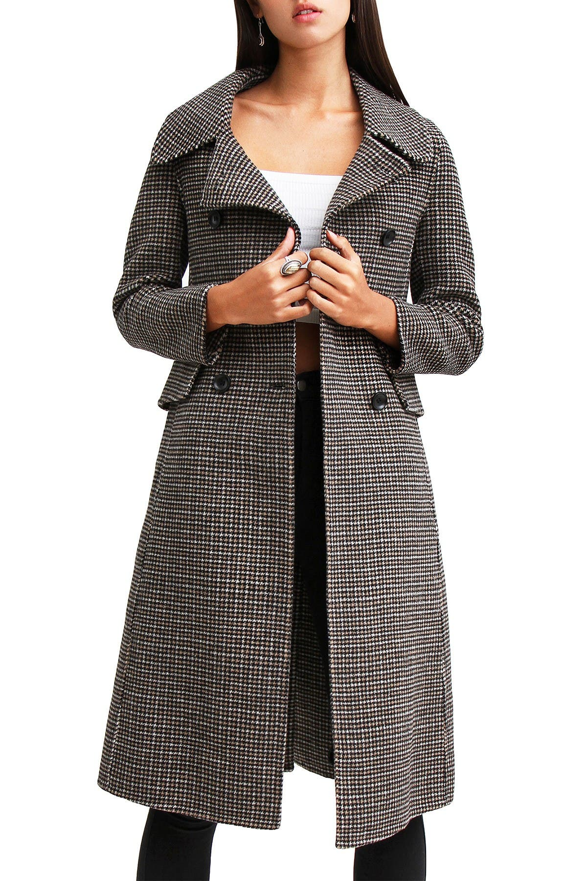 Womens Coat Wool Fitted Coat Paisley Print Winter Coat Bohemian M Size Wool Jacket Dark OrangeBrick and Navy Boho Wool Jacket SIZE