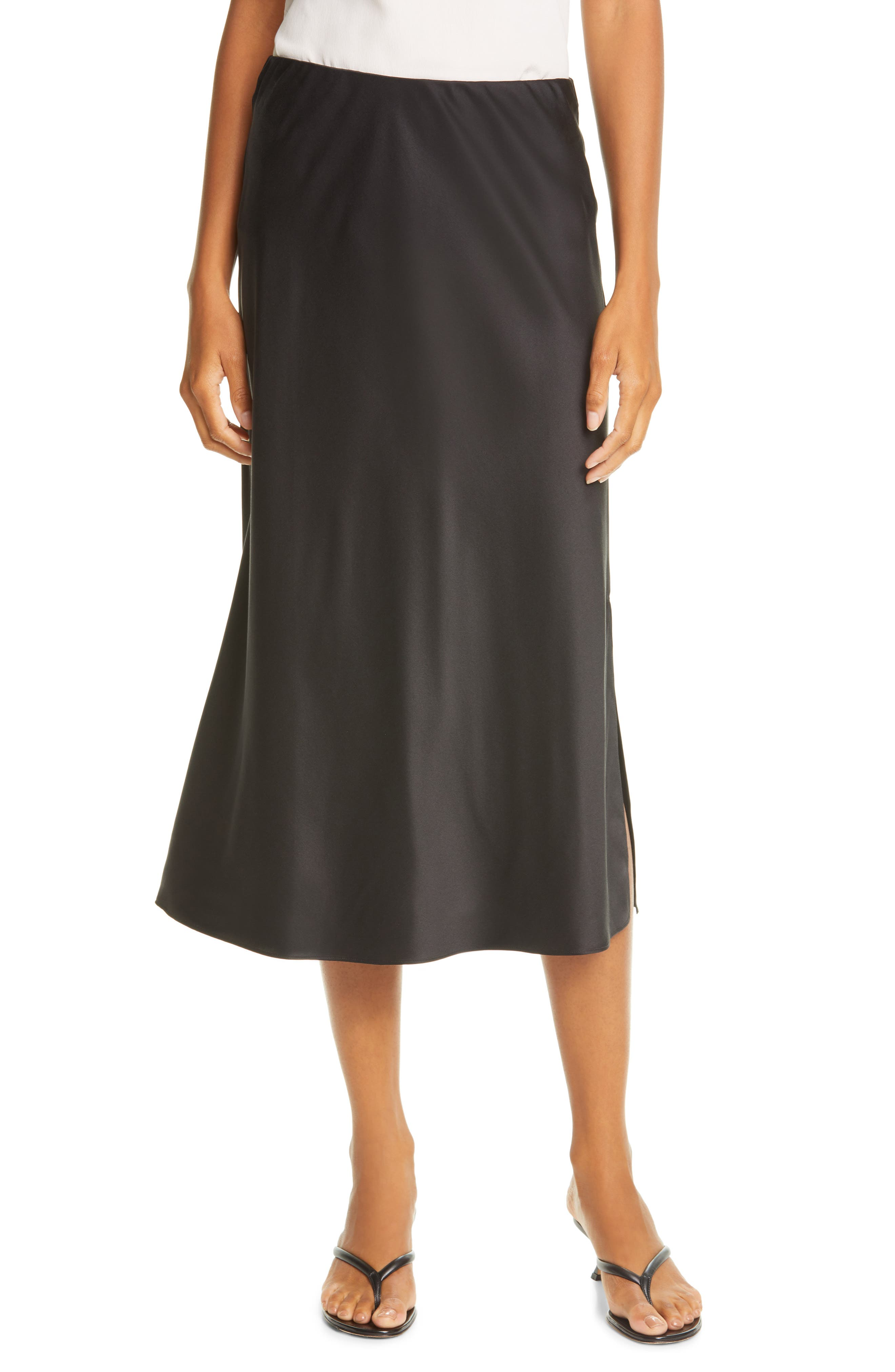 FRAME Washable Silk Maxi Skirt | Nordstrom
